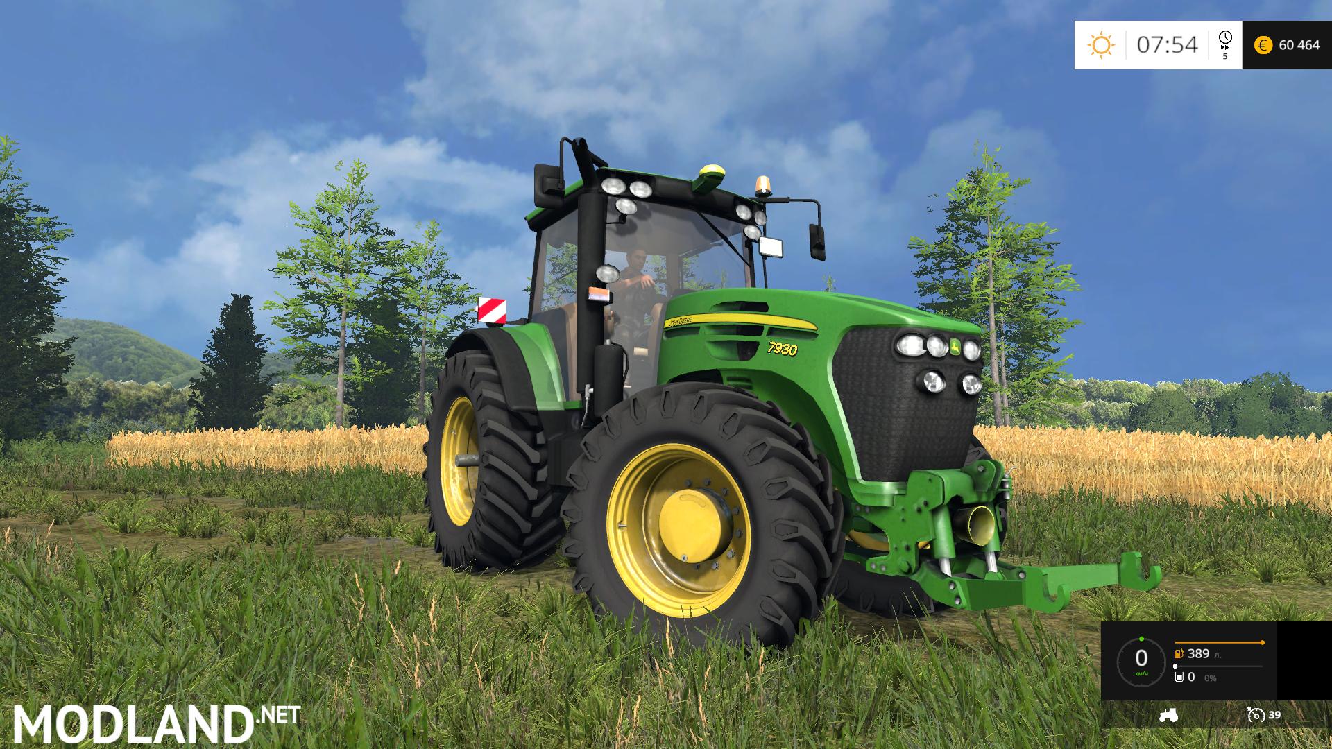 John Deere 7930 Mod For Farming Simulator 2015 15 Fs