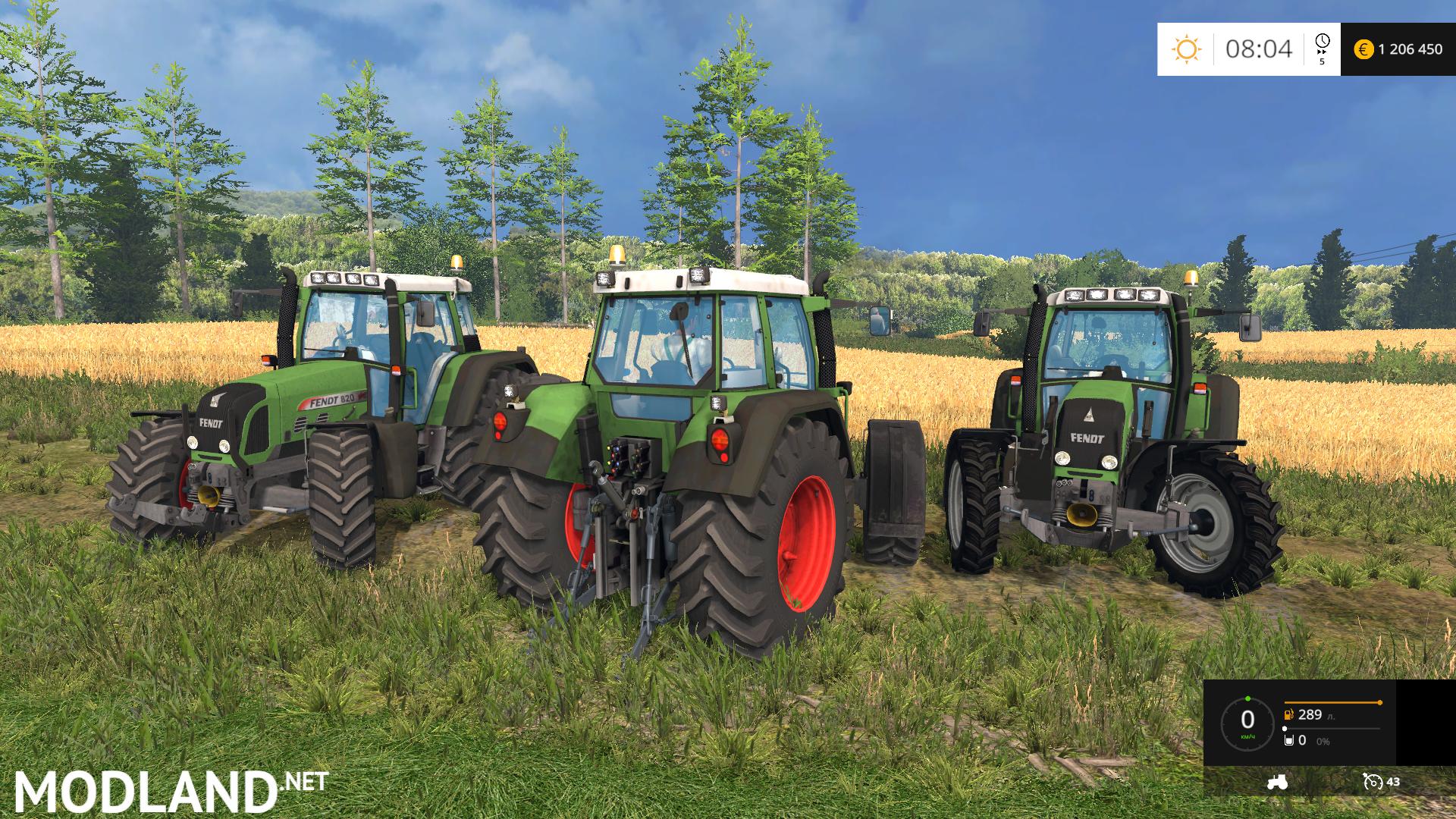 Fendt Vario Pack 716 818 820 V 1 0 Mod For Farming