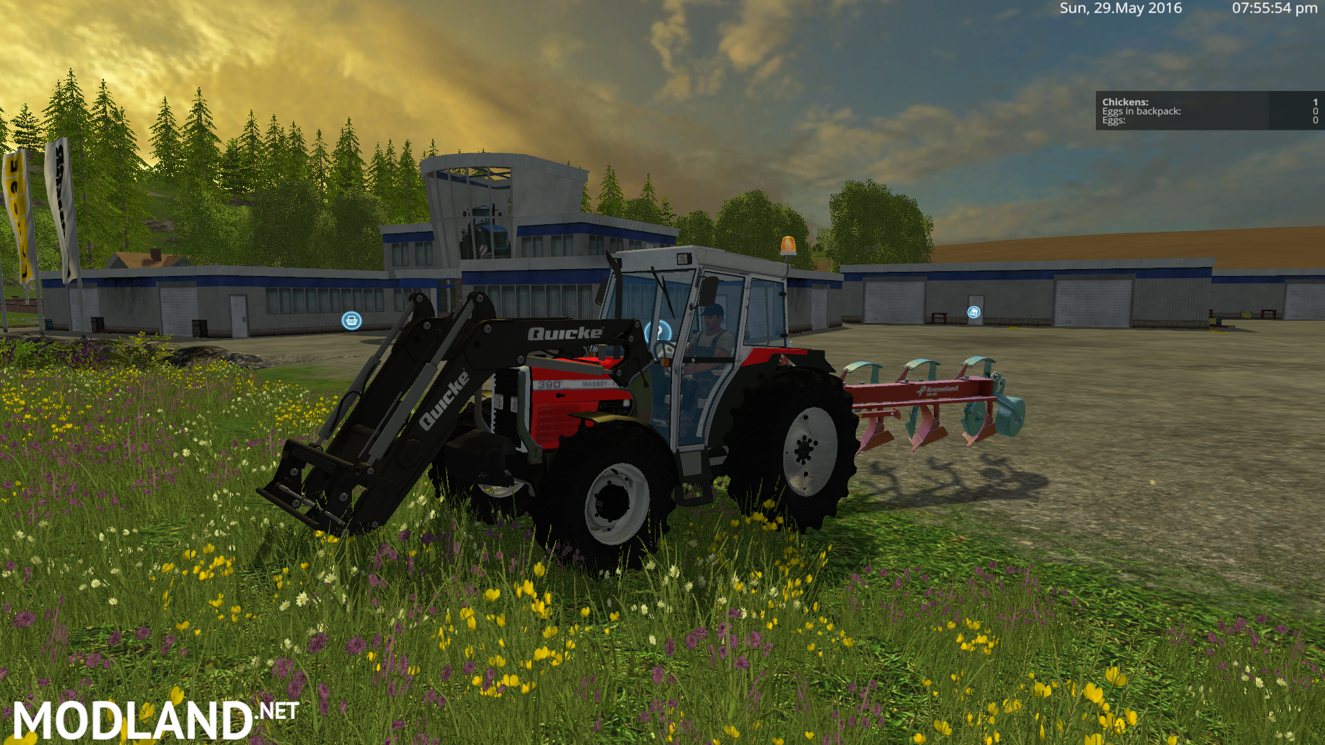 Massey Ferguson 390t Mod For Farming Simulator 2015 15
