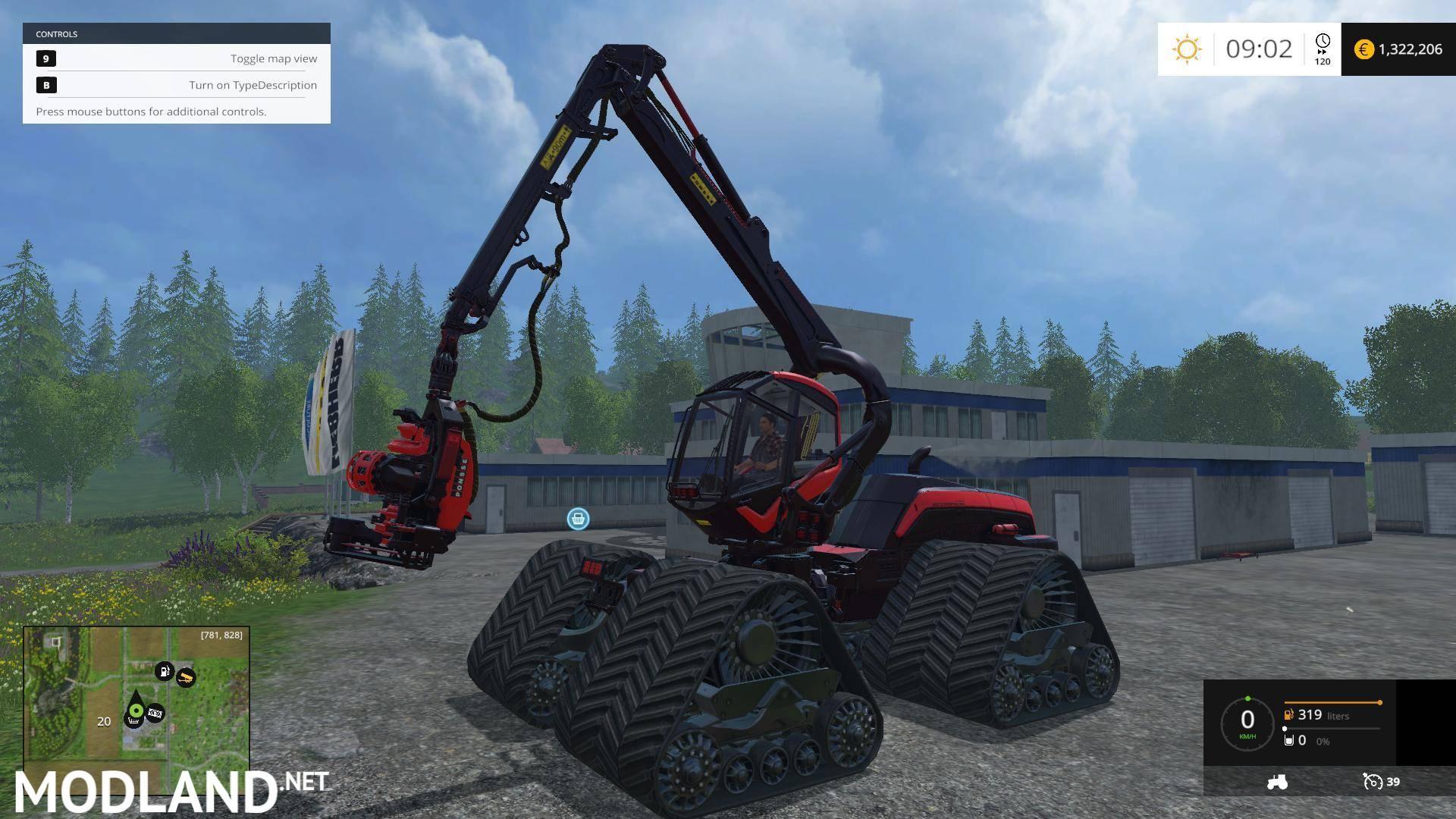King Timber Quad Mod For Farming Simulator 2015 15 Fs