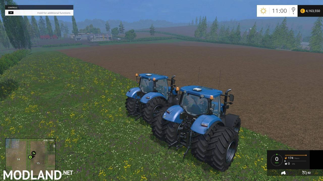 NEW HOLLAND T6160 Twin Pack