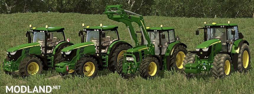 John Deere Medium Tractors Pack