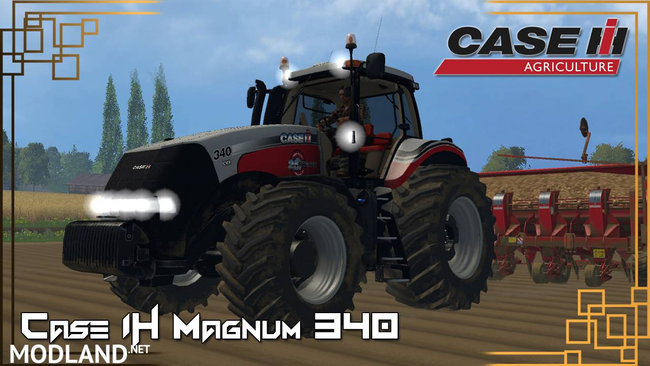 Case IH Magnum 340 SILVER 25 Years Edition