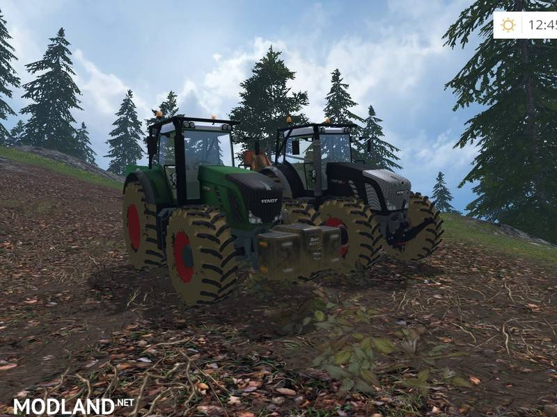 Fendt 936 Vario Forest Edition