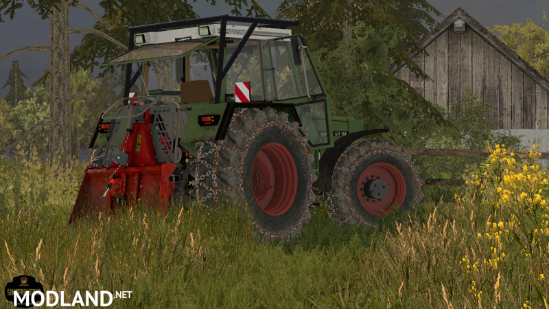Fendt 611Lsa forestry edition