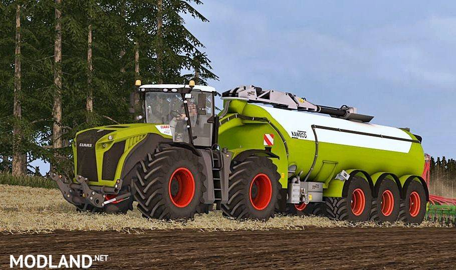 Claas Xerion 5000 Washable (Wheel Shader)