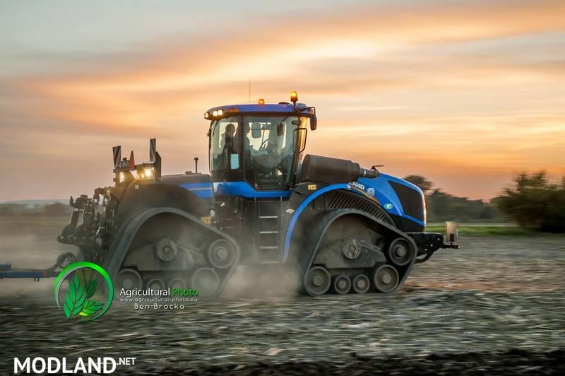 New Holland T9565 Smarttrax Ii V 20 Mod For Farming Simulator 2015