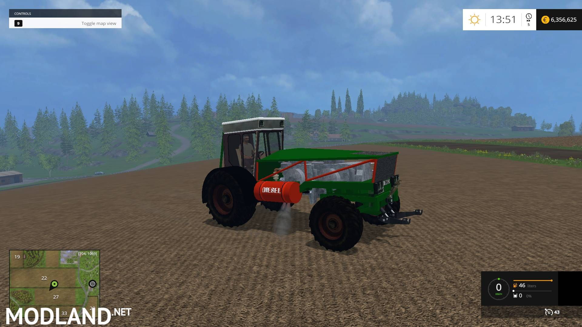 Klein Otto mod for Farming Simulator 2015 / 15   FS, LS 2015 mod