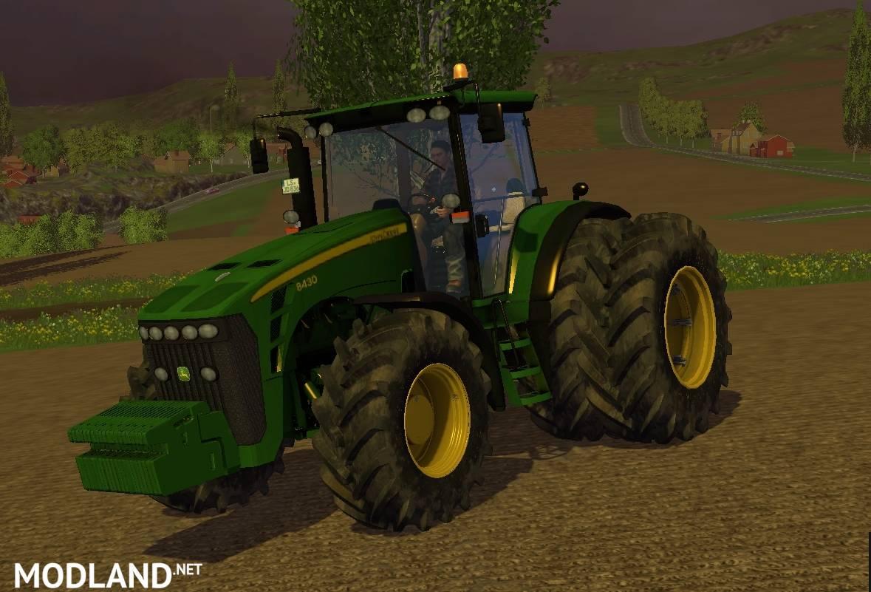 John Deere 8430 Mod For Farming Simulator 2015 15 Fs