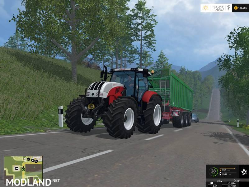 Steyr CVT 6230 mod for Farming Simulator 2015  15  FS