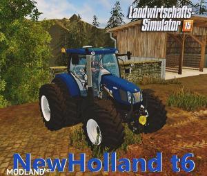 NEWHOLLAND T6 BLUEPOWER