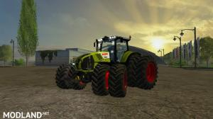 Claas axion 870 DUAL v 2.2, 1 photo