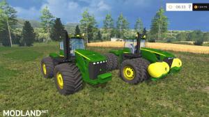 John Deere 9630 Selectable Wheels v 4.0