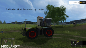 Claas Xerion 3800 Trac VC (Forbidden Mods Team), 5 photo