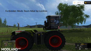 Claas Xerion 3800 Trac VC (Forbidden Mods Team), 4 photo