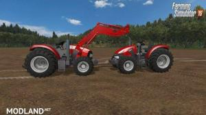 Case IH JXU 85 & Maxxum 120 without Cab + FL, 1 photo