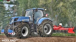 New Holland T7 Series T7.220 / 250/ 270 Wheelsh... V 1.0, 1 photo