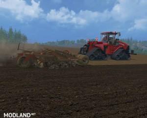 CASE IH Quadtrac 1000 v 1.1 The Red Baron, 10 photo