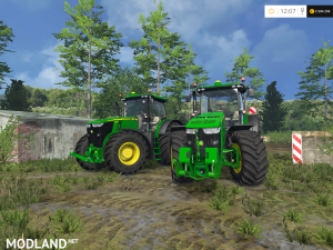John Deere 7290R / 8370R Pack v 0.2 BETA, 2 photo