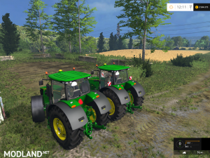 John Deere 7290R / 8370R Pack v 0.2 BETA, 5 photo