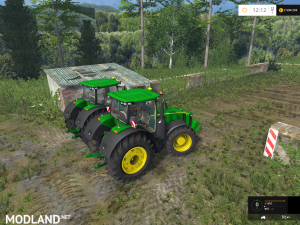 John Deere 7290R / 8370R Pack v 0.2 BETA, 4 photo