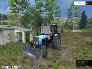 MTZ-1025 Belarus FL + Buldozer