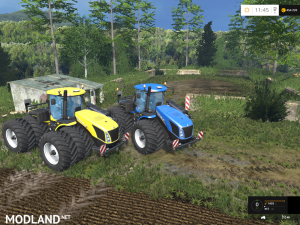 New Holland T9560 HDR Dyeable Twin Pack v 1.4, 2 photo
