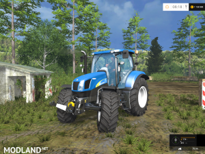 New Holland T6040, 1 photo