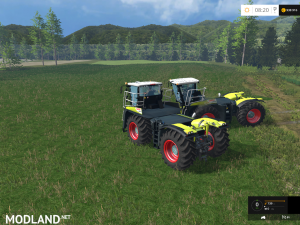 Claas Xerion 4000 Saddle Trac v 0.8 Beta, 4 photo