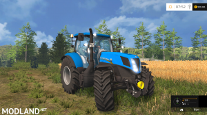 New Holland T7.170 v 2.0
