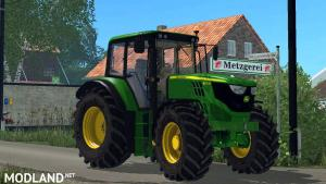 John Deere 6115M Weight V1.1