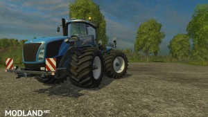 New Holland T9560 Wider Tires, 1 photo