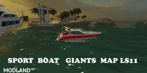 Sport Boat For Giants Map v 2.0, 4 photo