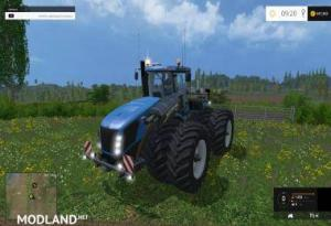 New Holland T9560 With Dynamic Twin Wheels, 1 photo