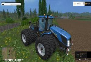 New Holland T9560 With Dynamic Twin Wheels, 4 photo