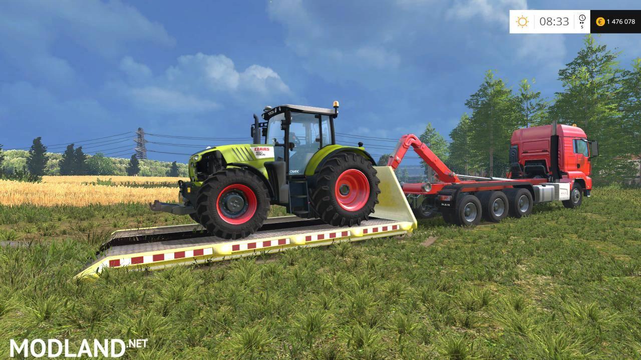 ITRunner Vehicle Transport v 1 3 mod for Farming Simulator 2015 / 15