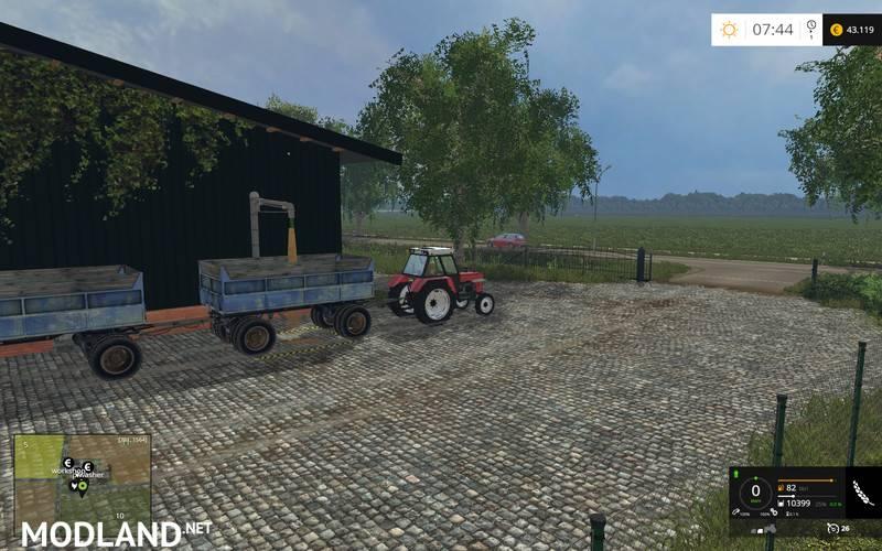 Autovlek Trailer v 1.0 mod for Farming Simulator 2015 / 15 ...