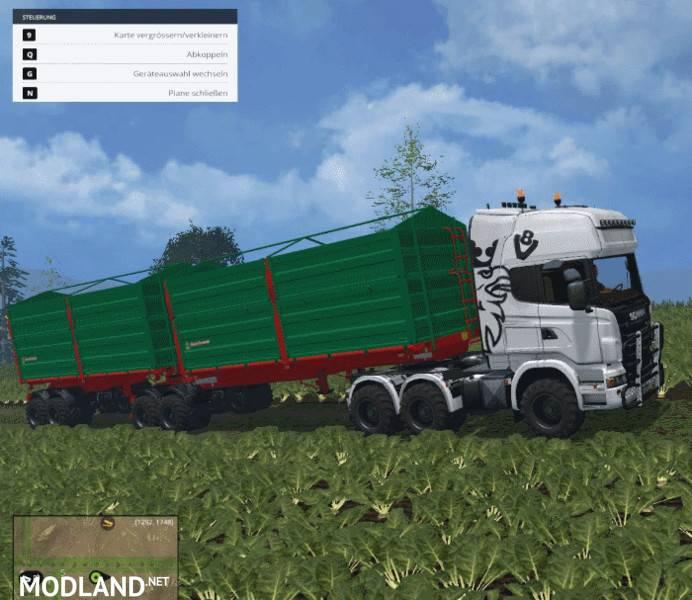 Bitrem Sgricultural Trailer V 1.0 Mod For Farming