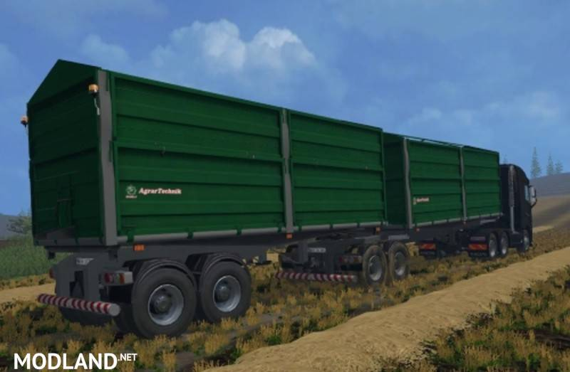 Bitrem Truck Trailers V 1.0 Mod For Farming Simulator 2015