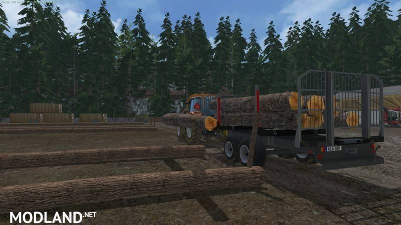 Brantner Timber Autoload v 1 3 mod for Farming Simulator