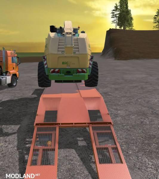 Fliegl Semi Trailer Set V 1.1 Mod For Farming Simulator