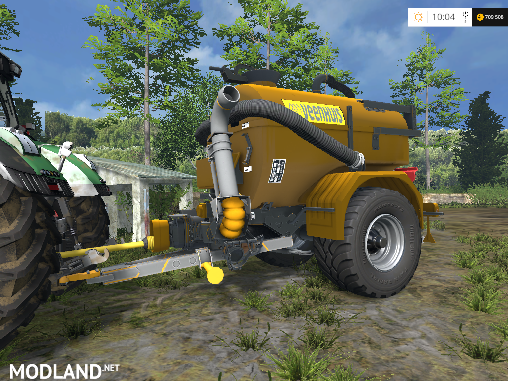 Tanker Trailer mod for Farming Simulator 2015 / 15 | FS, LS 2015 mod