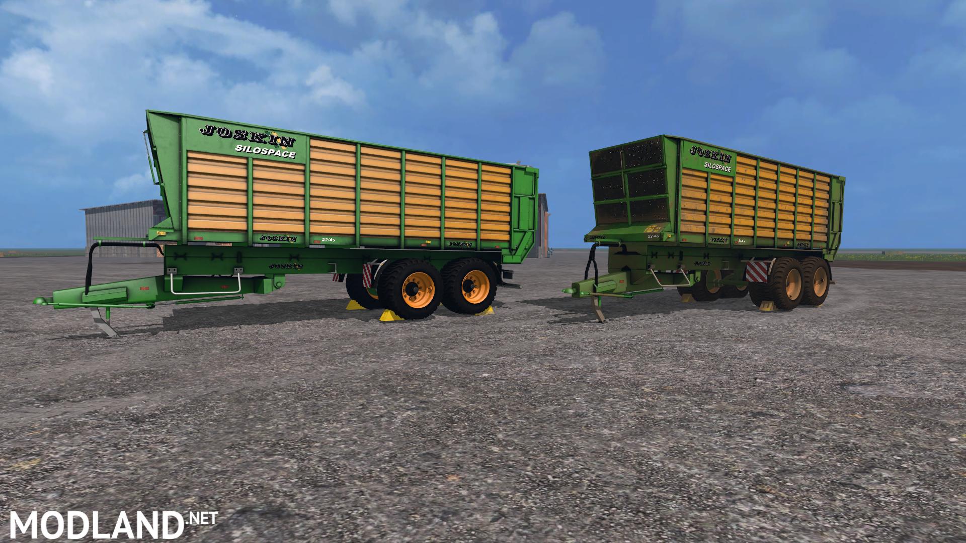 Joskin Silospace 22 45 Trailer Mod For Farming Simulator