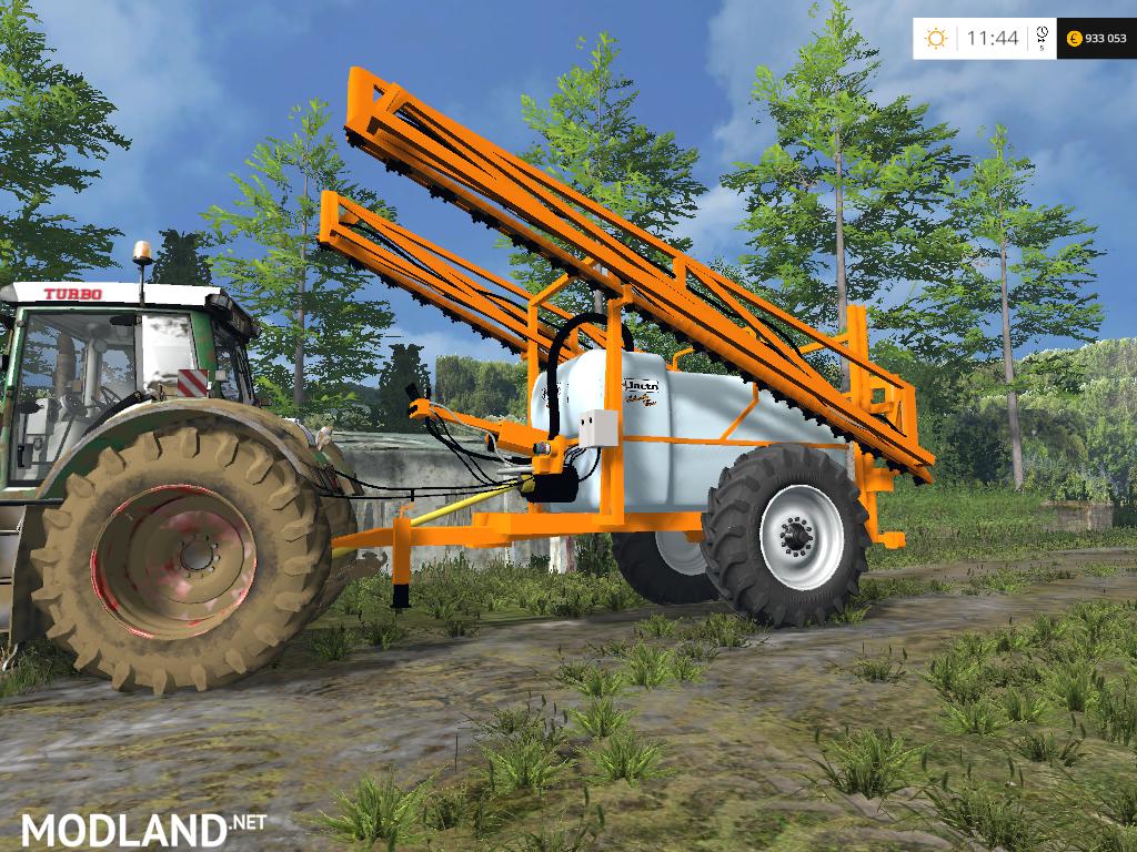 ... Sprayer v 1.0 mod for Farming Simulator 2015 / 15   FS, LS 2015 mod