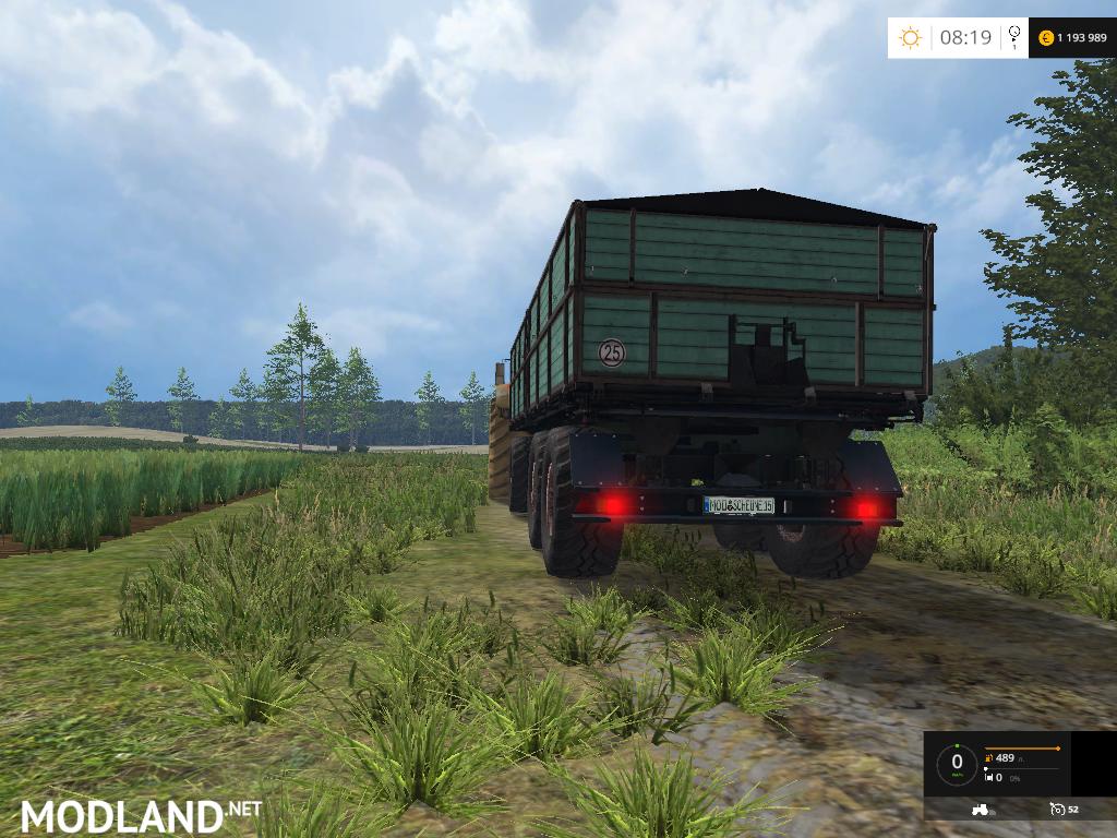 Mengele Dr 75 V 1 0 Mod For Farming Simulator 2015 15