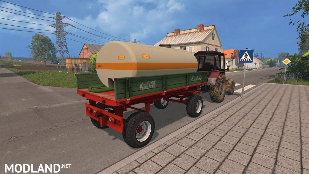 Krone emsland tank trailer 1 photo