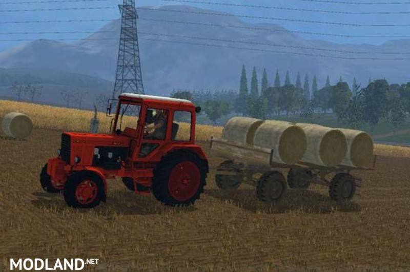 Hw80 Bale Trailers V 1 0 Mod For Farming Simulator 2015