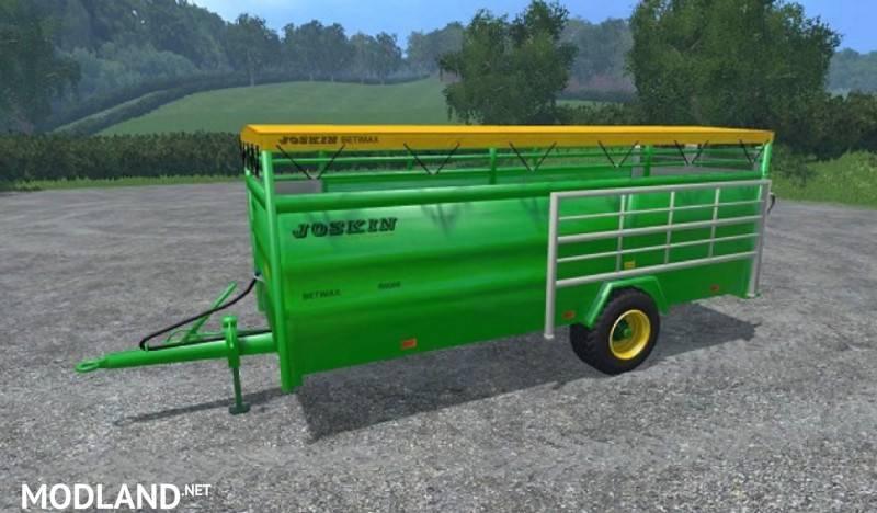 Joskin Betimax R 6000 Livestock Trailer V 1 0 Mod For