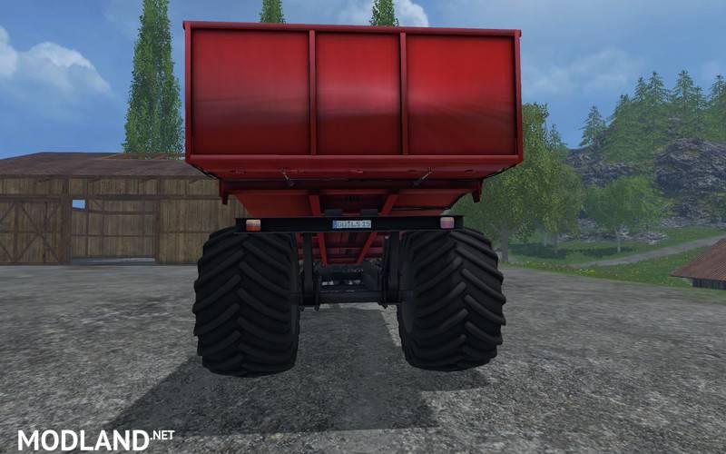 Kverneland Taarup Shuttle Trailer v 2.0 mod for Farming ...