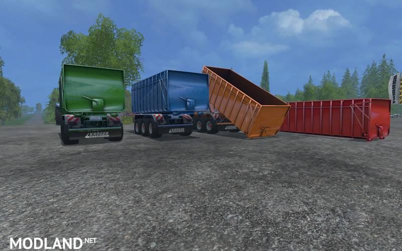Agroliner HKL Pack Trailer Pack